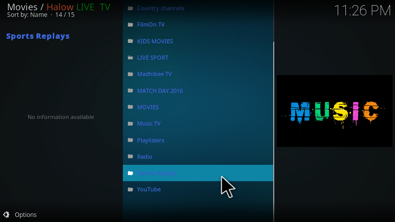 Halow Live TV kodi addon install guide & How to use tutorial