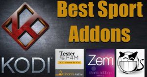 best kodi sports addons 2017
